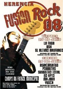 Esta noche arranca la primera edición de Herencia Fusión Rock 3