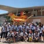Voluntarios de Herencia acompañaron a los Príncipes de Asturias durante su visita a la Expo de Zaragoza 5
