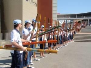 herencia voluntarios expo 300x225 - Voluntarios de Herencia acompañaron a los Príncipes de Asturias durante su visita a la Expo de Zaragoza