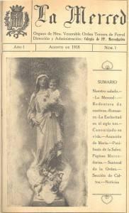 la merced 1 182x300 - La Merced-Caminos de Liberación, revista dirigida desde Herencia, cumple 90 años