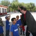 """1000 niños saharauis llegarán durante estos días al centro base que el programa """"Vacaciones en Paz"""" ha instalado en Herencia 3"""