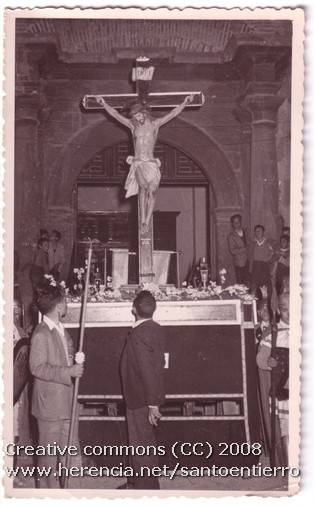 santo entierro 11 - Fotografías antiguas de la cofradía del Santo Entierro