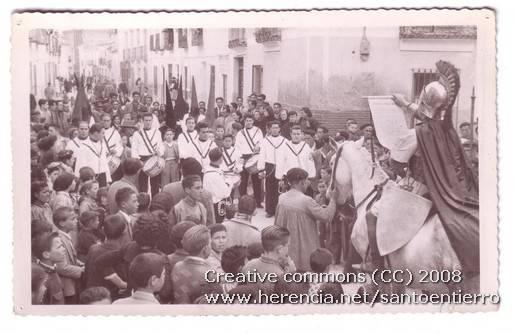 santo entierro 12 - Fotografías antiguas de la cofradía del Santo Entierro