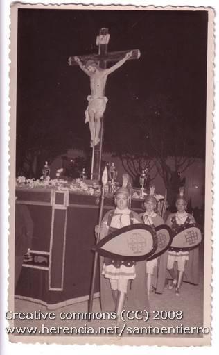 santo entierro 21 - Fotografías antiguas de la cofradía del Santo Entierro