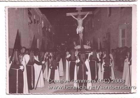 santo entierro 4 - Fotografías antiguas de la cofradía del Santo Entierro