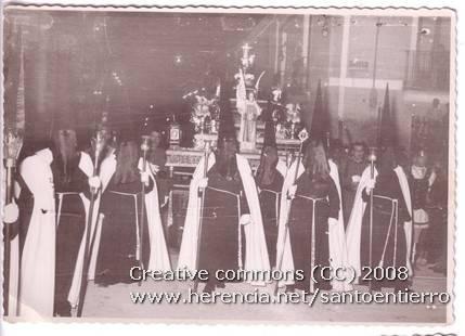 santo entierro 7 - Fotografías antiguas de la cofradía del Santo Entierro