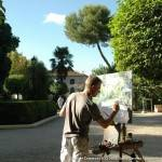 """artista en vivo certamen pintura rapida herencia 150x150 - Preparación del II Certamen Nacional de Pintura Rápida """"José Higueras"""""""