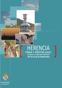 cartel ferias y fiestas herencia 2007 210x300 - Adelanto del programa de Ferias y Fiestas Herencia 2008