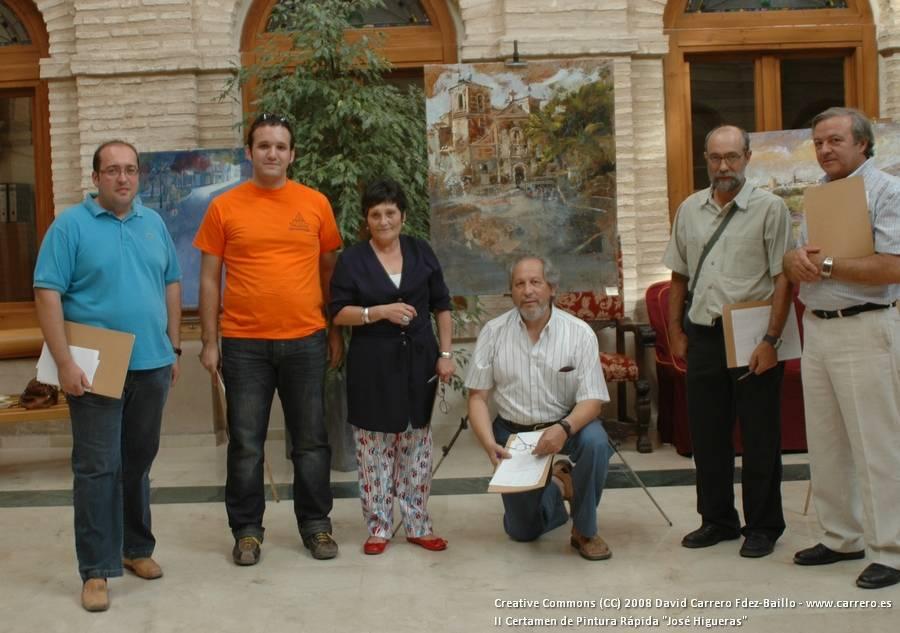 """certamen pintura rapida 2008 varias 012 - Garden-Viveros Ferca colabora con el III Certamen de Pintura Rápida """"José Higueras"""""""