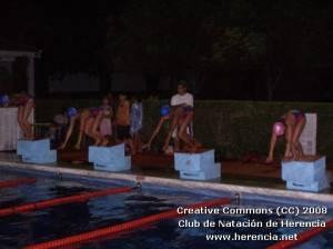 Éxito de la competición nocturna del Club de Natación de Herencia 3