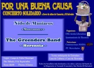 concierto solidario de herencia copia 300x218 - Por una buena causa... Concierto Solidario pro Acción Liberadora