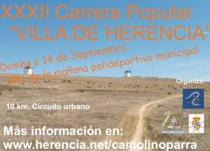 "xxxii carrera popular herencia 300x216 - XXXII Carrera Popular ""Villa de Herencia"""
