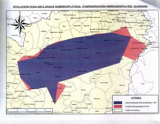 Mapa del Acuífero 23