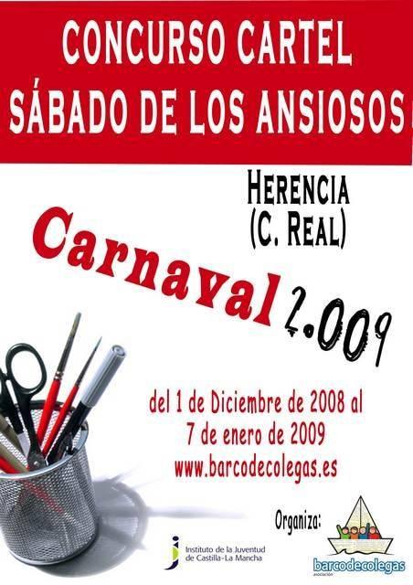 concurso cartel sabado ansioso1 - La Asociación Barco de Colegas busca cartel para dar la bienvenida al carnaval