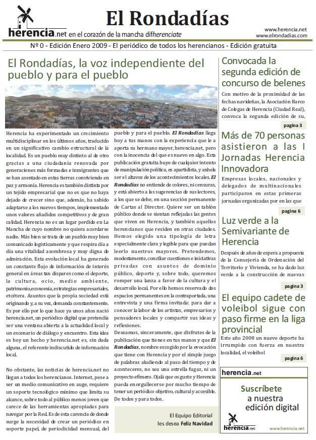El Rondadías, la voz independiente del pueblo y para el pueblo 1