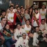 Los Pelendengues actuaron en el Teatro Falla con expectación de los gaditanos y rodeados de manchegos 1