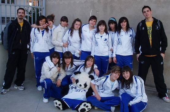 Las chicas del SMD Balonmano Infantil juegan la fase regional 1