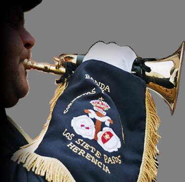 Concierto de Semana Santa de la agrupación musical Santa Cecilia y la Banda de Cornetas y Tambores Los 7 Pasos 1