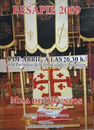 besapie 2009 santo entierro1 315x435 - Imágenes del Santo Entierro