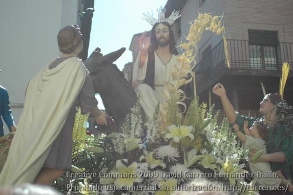 Itinerario de la procesión del Domingo de Ramos 3