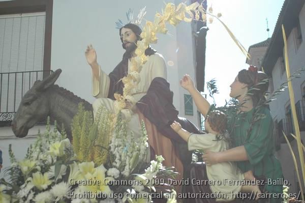 Itinerario de la procesión del Domingo de Ramos 4