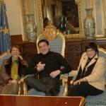 patxi y amigas 150x150 - Alcalde de Vitoria-Gasteiz recibe a un grupo de herencianos