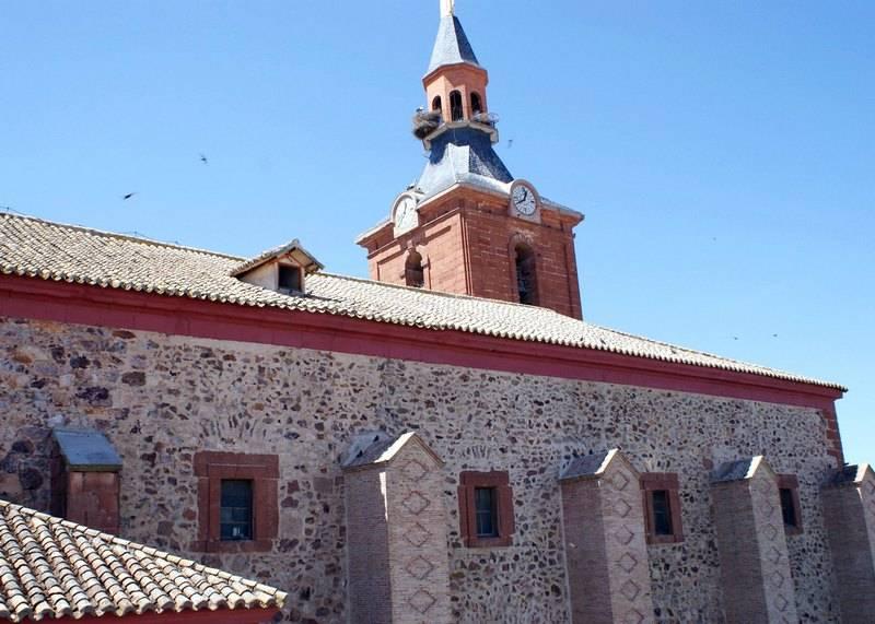 iglesia parroquial herencia - Creación del Consejo Local de Urbanismo y Patrimonio de Herencia