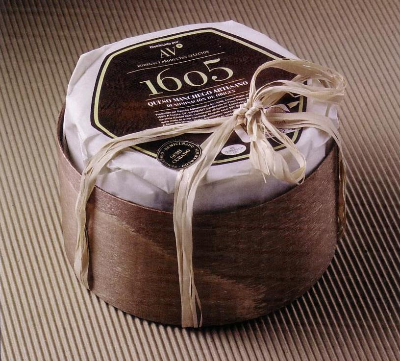 El queso herenciano 1605 medalla de oro en FERCAM 1