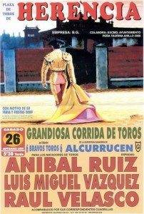 herencia toros cartel 09