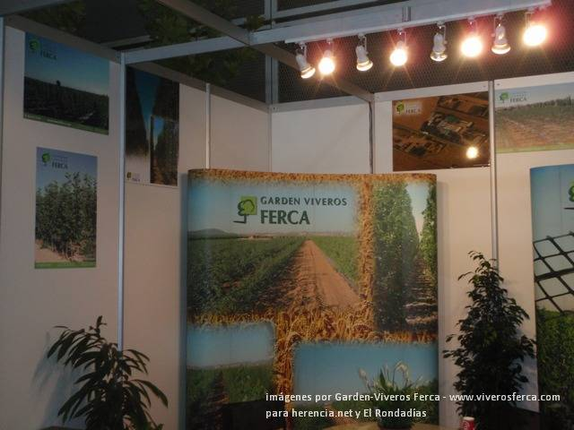 Viveros Ferca expone en Iberflora 1