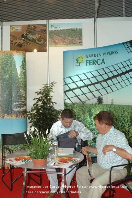 Viveros Ferca estará presente en Iberflora 2009 4