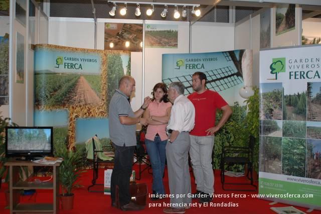 Viveros Ferca cierra la edición 2009 de Iberflora 44