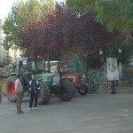 Herencia también se sumó al paro general agrario 2