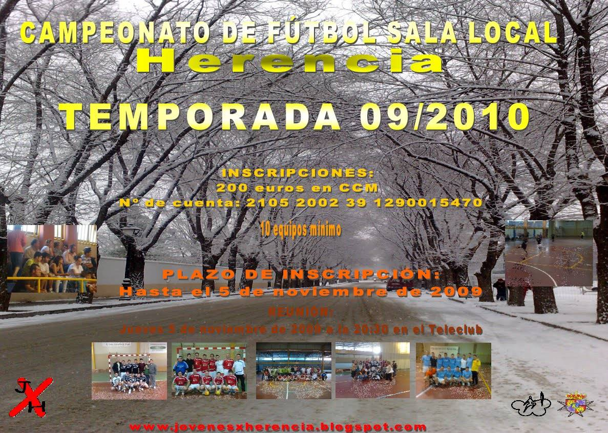 pag 13 Campeonato local futbol sala
