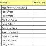 primera jornada 1 division 150x150 - Comienzo 4ª Liga local de padel