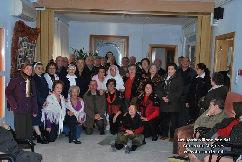 Grupo de Villancicos del Centro de Mayores