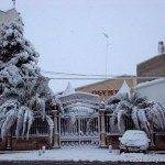 Salones san roque con nieve 150x150 - Otro año más la nieve nos visita