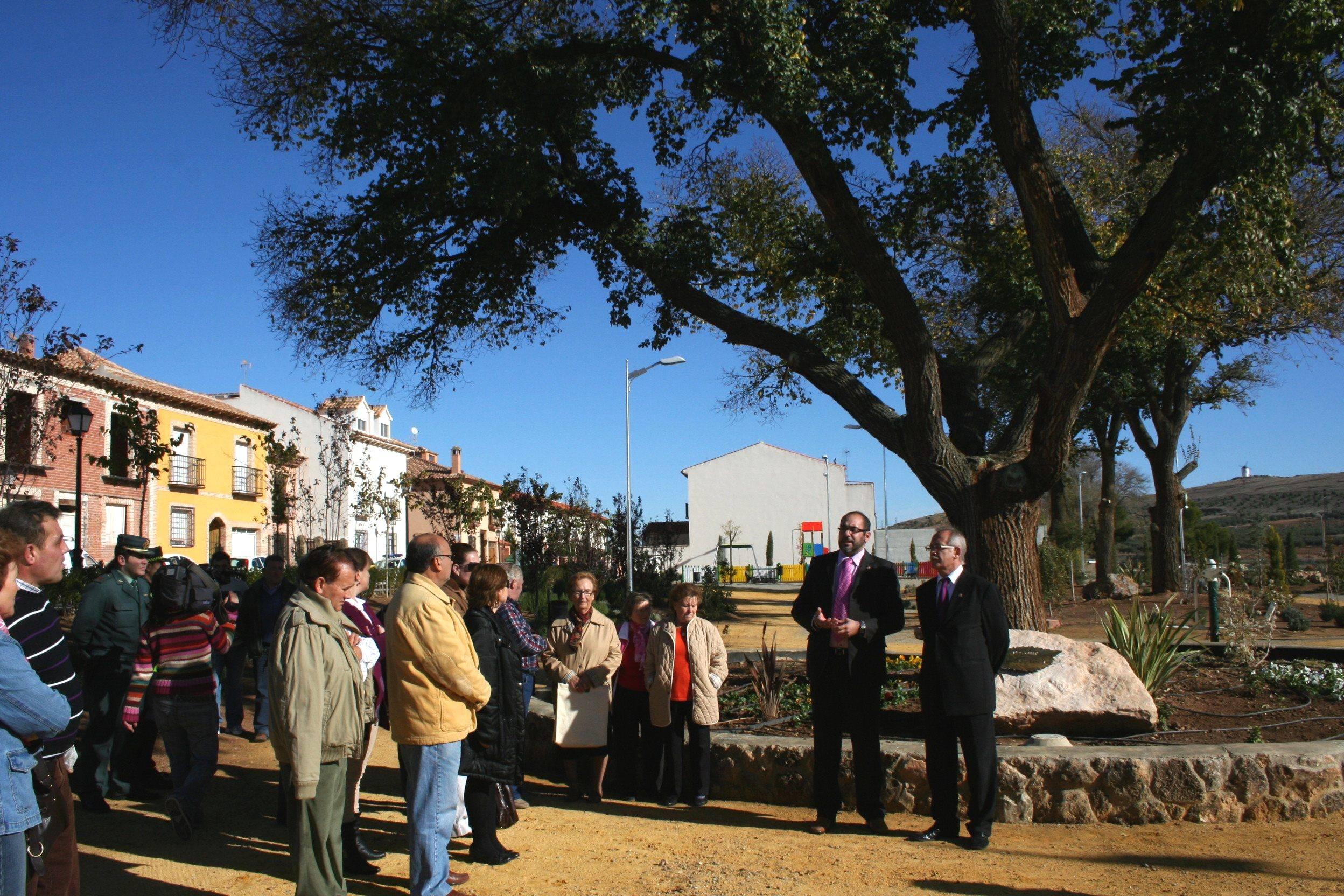 Inaugurado el parque 3 de abril 3