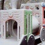 tren nevado 150x150 - Otro año más la nieve nos visita