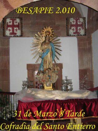 Cartel Santo Entierro 2010 315x421 - Imágenes del Santo Entierro