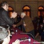 """entrega nazareno de plata 2010 150x150 - Presentación de la Semana Santa 2010 y entrega del """"Nazareno de Plata"""""""