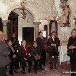 guia en iglesia santa fe 150x150 - Viaje del Grupo de Voluntariado a Santa Fe