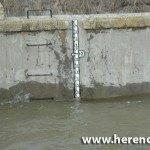 marca de nivel de puente alto 150x150 - Agua en el Puente alto y carretera Villarta