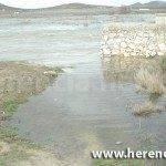 puente alto desbordado 150x150 - Agua en el Puente alto y carretera Villarta