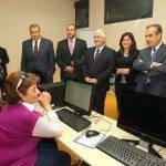Corbacho y Barreda inauguran el nuevo Centro de Formación y Empleo 8