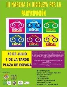 III Marcha en bicicleta por la participaci%C3%B3n 2 229x300 - La III Marcha en Bicicleta por la Participación se aplaza al sábado 10 de julio