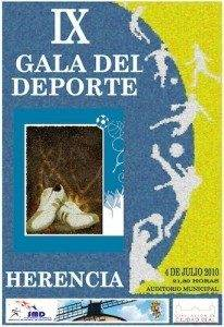 IX gala del deporte herencia 2010