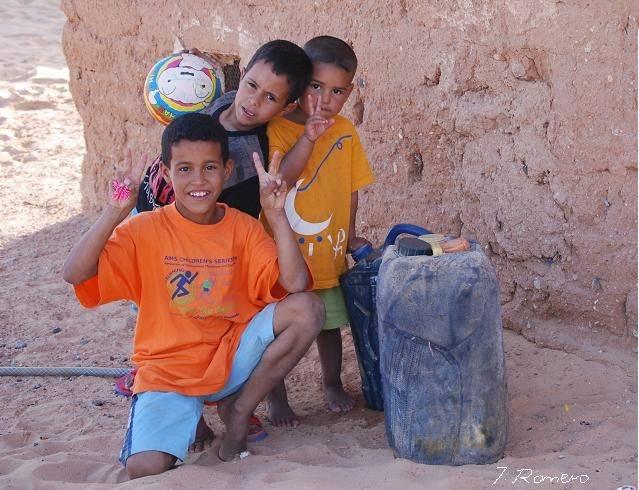 """niños saharauis - El proyecto """"una planta por el Sahara"""" cambia su lugar y fecha de celebración"""