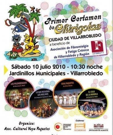 Certamen de chirigotas villarrobledo 390x465 - Los Pelendengues participan en el I Certamen de Chirigotas de Villarrobledo