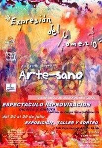 Exposici%C3%B3n Expresi%C3%B3n al momento 207x300 - Pintura, arte y música unidos en expresión del momento